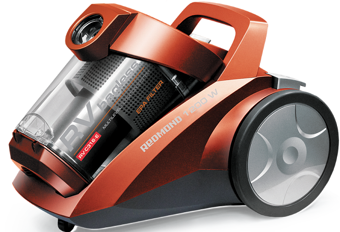 Vacuum cleaner REDMOND RV-C316-E (Orange)