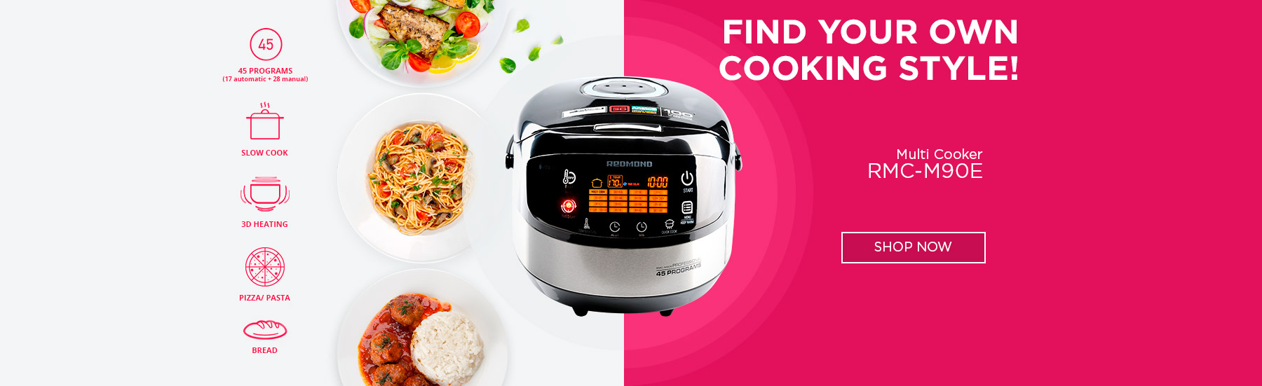 Many functions, one multicooker
