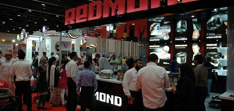 REDMOND participates in the exhibition at the Abu Dhabi ELECTRONICS SHOPPER SHOW in the UAE