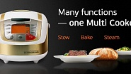 Many functions - one Multi Cooker!