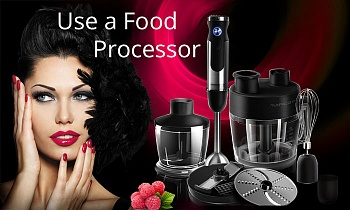 Top 10 Ways to Use a Food Processor