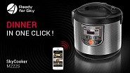 Multicooker REDMOND RMC-M222S The smart home in one click!