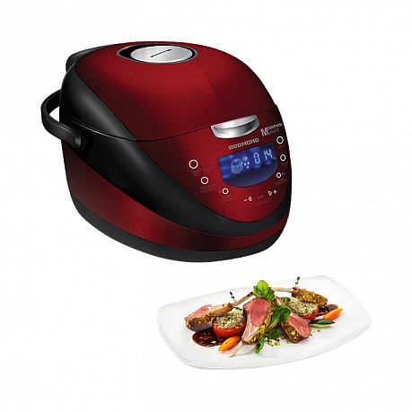 Multi Cooker REDMOND RMC-M150E (Burgundy-Black)