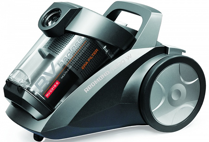 Vacuum cleaner REDMOND RV-C316-E (Gray)